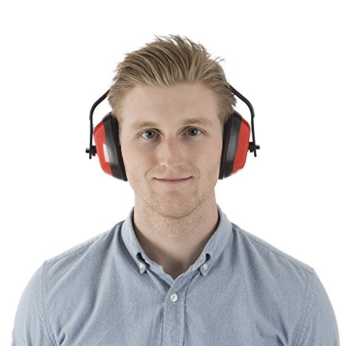 Safety Ear Muffs for Hearing Protection, Adjustable With 26 DB Noise Reduction By Stalwart (For Shooting Ranges, Mowing, Hunting and Construction) by Stalwart (Image #2)