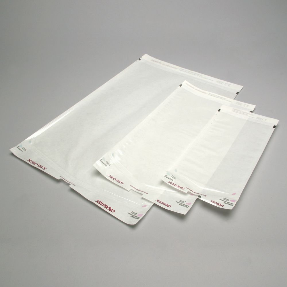 Autoclave Sterilization Pouch, 12 x 18'', Box of 100