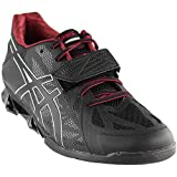 Cheap ASICS Men's Lift Master LITE Cross-Trainer Shoe, Black/Onyx/True Red, 12.5 M US