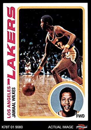 62ad06654db 1978 Topps   3 Jamaal Wilkes Los Angeles Lakers (Basketball Card) Dean s  Cards 5