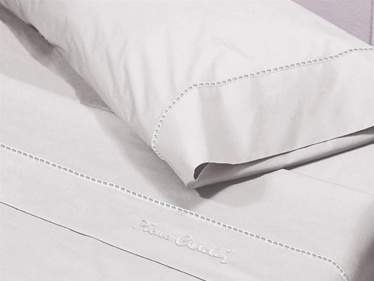 Pierre Cardin Juego de sábanas Arcadia 135-Color Blanco, Algodón ...