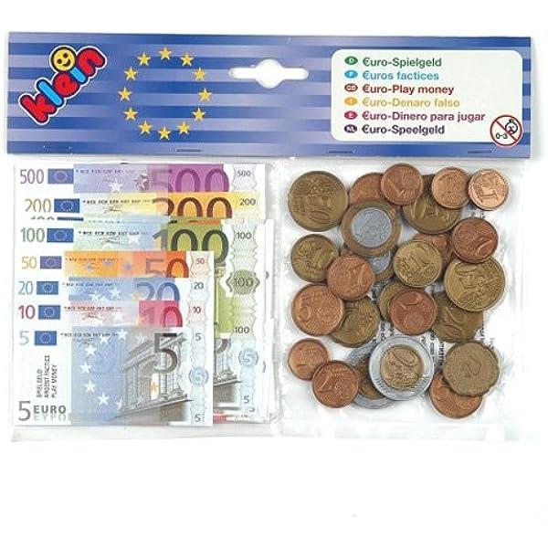 Theo Klein-9612 Euro Dinero para Jugar, Juguete, Multicolor (9612 ...