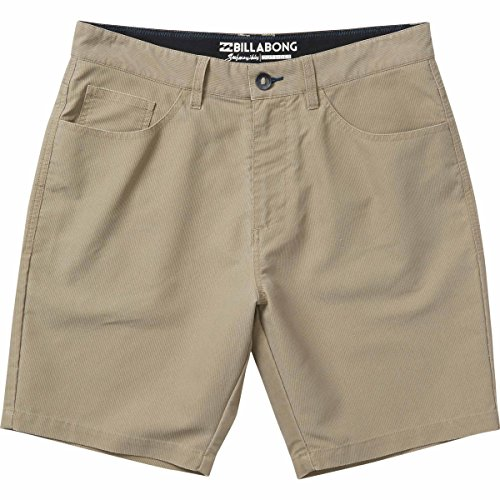 - Billabong Men's Outsider X Surf Cord '18 Walkshorts,38,Khaki