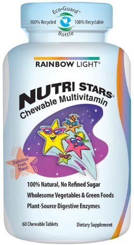 RAINBOW LIGHT - NUTRI STARS MULTIVITAMINS - 60 BONBONS