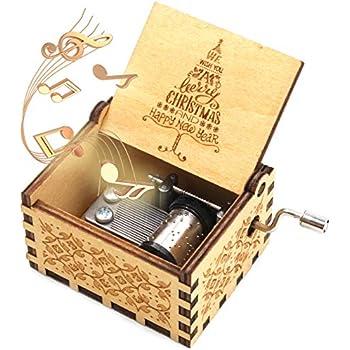 The Beatles Music Box Let It Be Music Box 1 Set ukebobo Wooden Music Box The Beatles Gifts Khaki