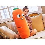 Gloveleya Plush Carrot Pillows Stuffed Super Soft