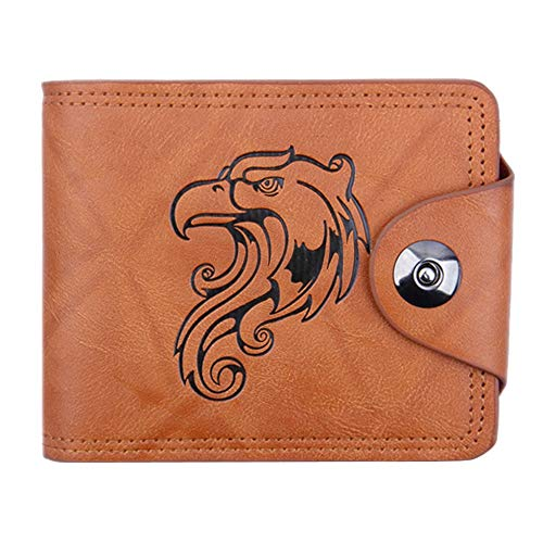Men's Wallets Sale Clearance Brand LEEDY Men Bifold Business Leather Wallet ID Credit Card Holder Purse Pockets