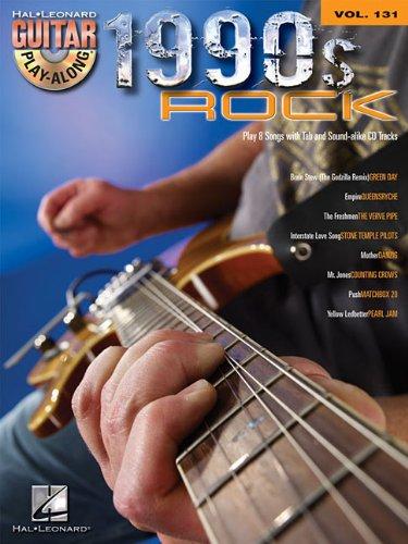 1990s Rock: Guitar Play-Along Volume 131 ebook