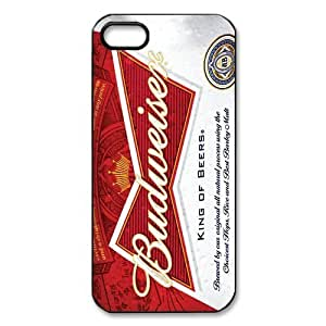 DiyCaseStore Cool Budweiser Beer iPhone 5 5S Hard Case Cover Protector Christmas Gift Idea