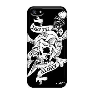 Durable Hard Phone Cover For Iphone 5/5s With Provide Private Custom Vivid Ed Hardy Pictures RichardBingley