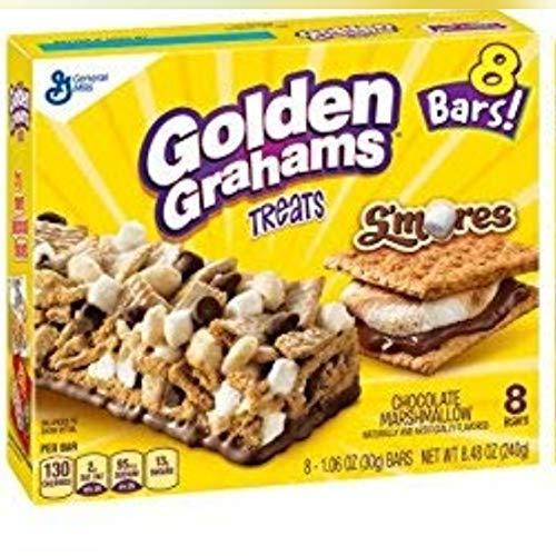 Treats Bar Golden Grahams Treats, Chocolate Marshmallow, 8 ()
