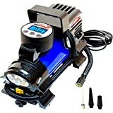 EPAuto 12V DC Portable Air Compressor Pump, Digital Tire Inflator by 100 PSI