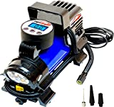 Automotive : EPAuto 12V DC Portable Air Compressor Pump, Digital Tire Inflator by 100 PSI