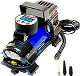 EPAuto 12V DC Portable Air Compressor Pump, Digital Tire Inflator by 100 PSI