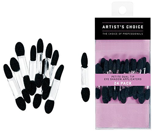 - Artist's Choice Petite Double Ended Eye Shadow Applicators (24 Count)