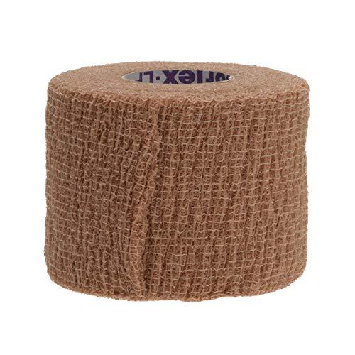 Yd Cohesive Elastic Bandage Wrap - Medline Premium Co-Flex Quick-Stick Cohesive Flexible Elastic Bandage, Self-Adherent Compression Wrap, Latex Free, 2