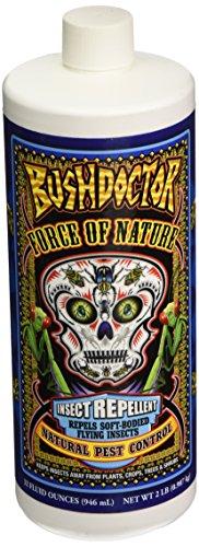 Fox Farm BushDoctor Force of Nature Insect Repellent Repels Insect Quart Foxfarm (Control Nature Pest)