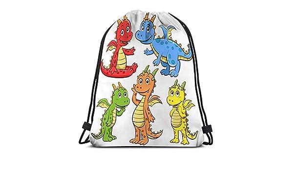 Jiuerlius4 Drawstring Backpack Bag Lightweight Gym Travel ...