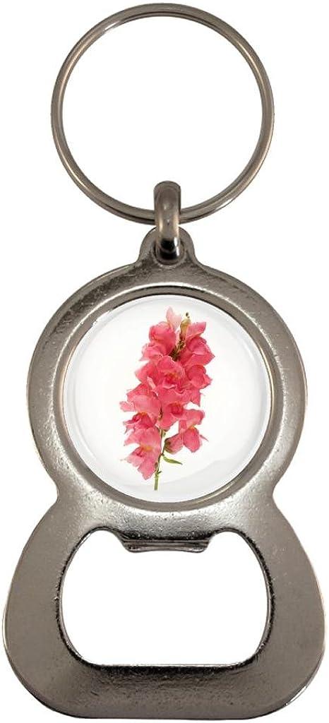 Cherry Blossom Flower Image Design Metal Bottle Opener Keyring in Gift Box