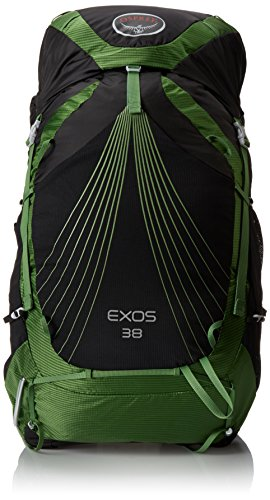 Osprey Packs Exos 38 Backpack, Basalt Black, Small