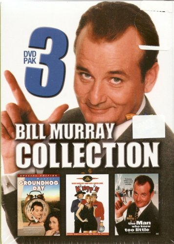 Bill Murray Collection - Groundhog Day, Kingpin, the Man Who Knew Too Little -