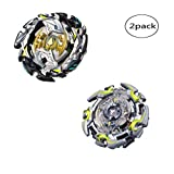 WenJie [2 Pack] Beyblade Burst - Personally Assemble to Improve Your Child's Manual Ability - Stamina Type - 2 X Combat Combination ( 2 Beyblade + 2 Launcher ) - b82+b106