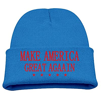 Child Beanie Hat Trump Make America Great Again Skull Cap In 4 Colors