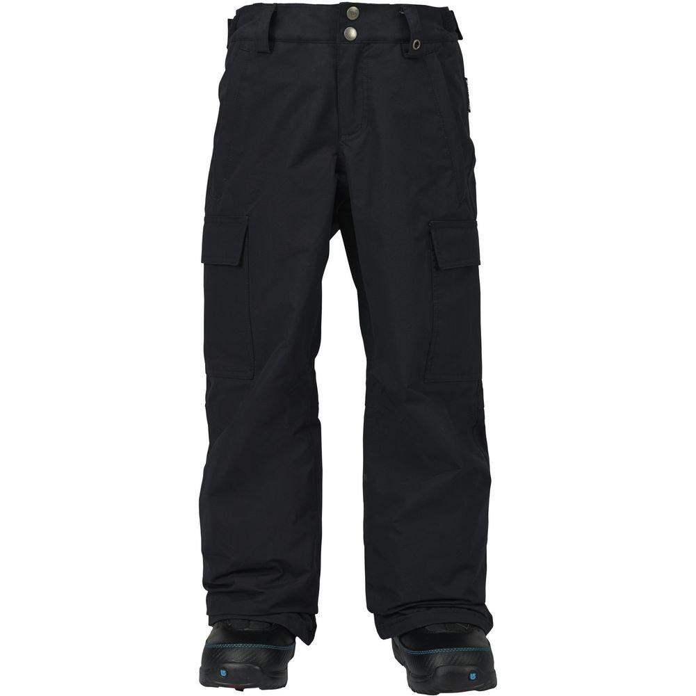 Burton Boys Exile Cargo Pants, True Black, X-Small