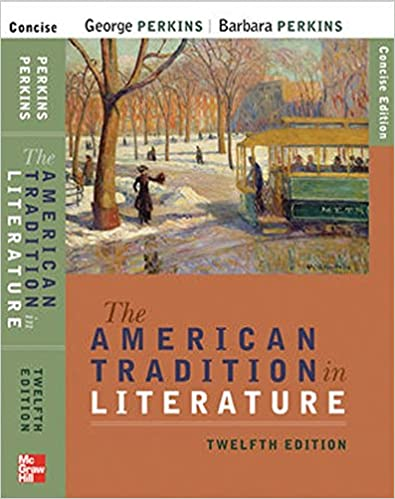 american tradition in literature 12th edition textbook