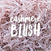 Cashmere Blush Shredded Tissue Paper Shred Dusty Soft Baby Pink Hamper Gift Box Basket Filler Fill Premium Quality