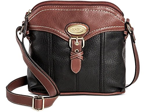 Faux Leather and Handbag Closure Women's Bolo w Compartments Zipper Back Crossbody Interior wH5UxExqz