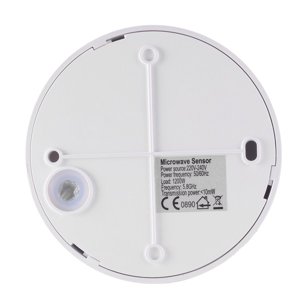 XCSOURCE® Techo microondas PIR cuerpo Sensor de movimiento Presencia Detector de presencia Luz Interruptor de encendido / apagado automático HS802: ...