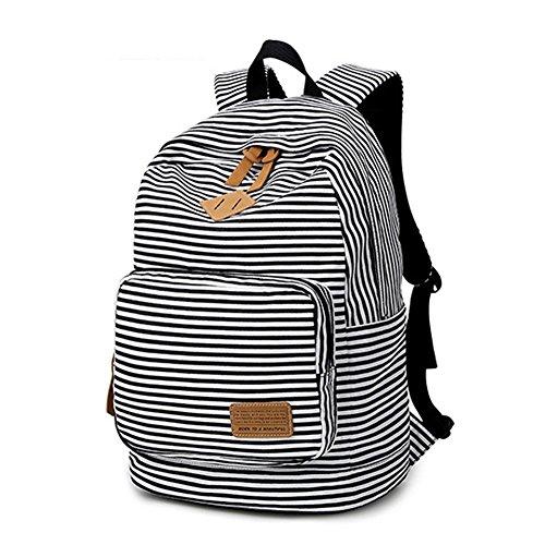 cute black teen side backpack - 1
