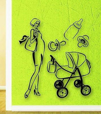 Baby Stroller Stencil - 5