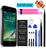 Best SE Of Tools - oGoDeal Battery Compatible with/Replacement for iPhone SE 1624 Review