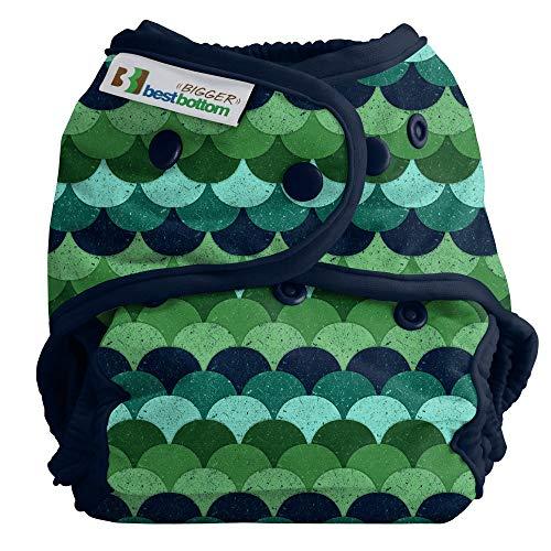 Bigger Best Bottom Reusable Cloth Diaper, Loch Ness