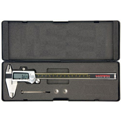 Carrera Precision Fractional Digital Caliper -