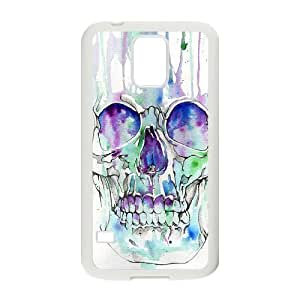 skull ZLB814751 Personalized Phone Case for SamSung Galaxy S5 I9600, SamSung Galaxy S5 I9600 Case