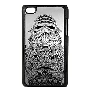 Star Wars Darth Vader Image On The iPod 4 Black Cell Phone Case AMW896923