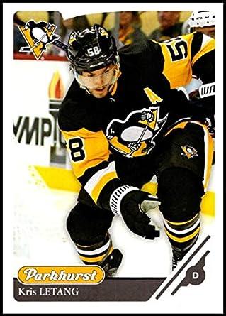 fc0735803ba 2018-19 Parkhurst Hockey #272 Kris Letang Pittsburgh Penguins Official NHL  Trading Card made