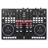 vestax dj mixer - Vestax VCI-400 Professional MIDI and Audio DJ Controller with Built in Mixer