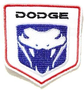 Cabeza de camión DODGE Viper Mopar Sew hierro en remiendo del bordado: tamaño 7,62 cm, anchura x 8,26 cm, altura vendiste SSLINK