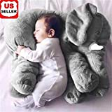 Toys : Plush Love Elephant Plush - Grey - Stuffed Animal - Baby Toy (2019)