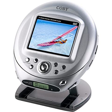 Coby TF-DVD500 Ultra-Portable DVD Player with 3.5-Inch LCD (Jaguar Av Cable)