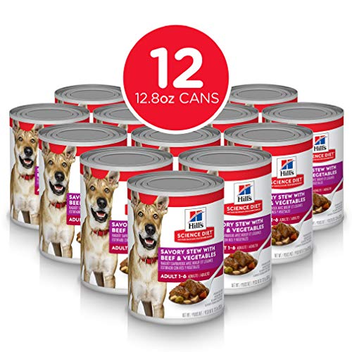 Hill's Science Diet Wet Dog Food, Adult, Savory...