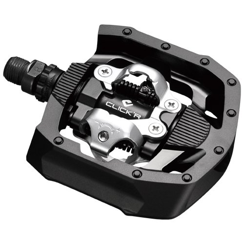 SHIMANO PD-MT50 SPD Pedal, Without Reflector, Includes Cleat, Black, One Size