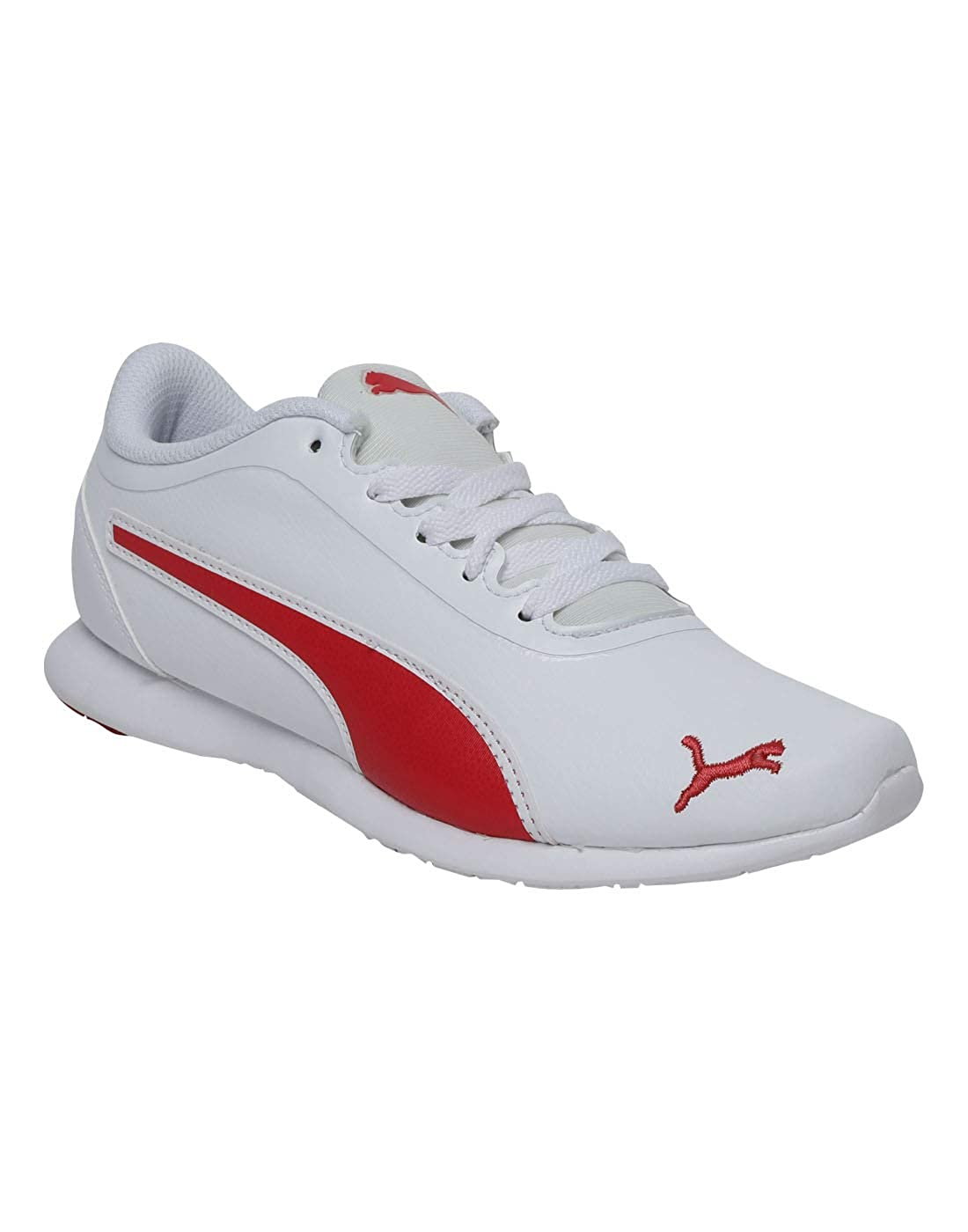 7cb65ac55d Puma Puma Vega Sweet SL IDP Puma White-Hibisc: Amazon.in: Shoes ...