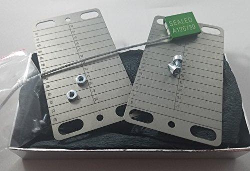 Titanium Hardware - ProtectingCoin CryptoVault - Titanium Recovery Seed Storage (Cold Storage)
