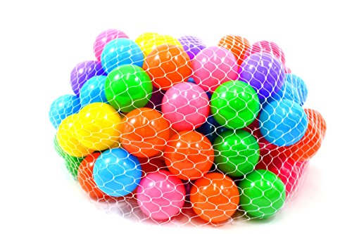 """PowerTRC Non-Toxic 100 """"Phthalate Free"""" Crush Proof 6.5cm Quality Non-Recycled Pit Balls"""