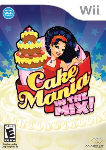 Cake Mania In The Mix - Nintendo Wii by Majesco